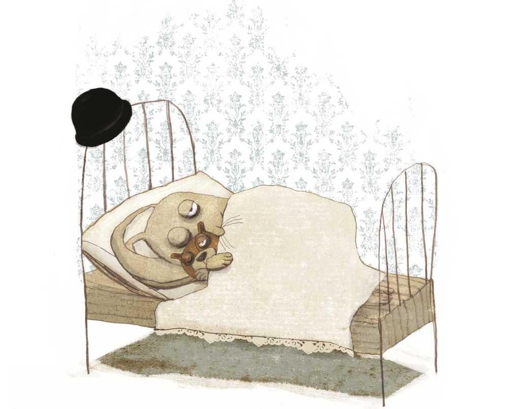 Cäsar_im_Bett(c)aus Grododo, Carlsen Verlag